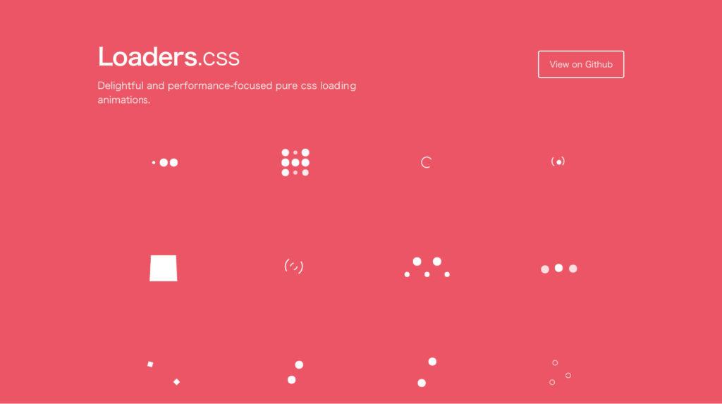 CSS コピペだけで実装できるローディングアニメーション!