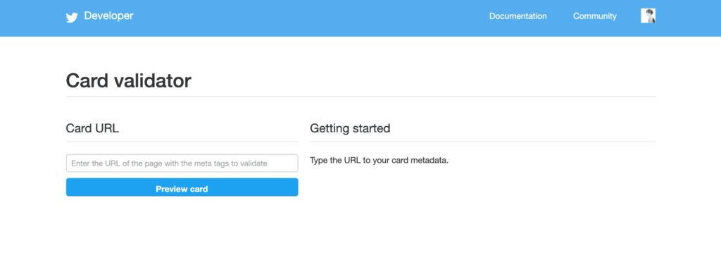 Card Validator | Twitter Developers